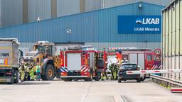 De brandweer aan het werk (Foto: Marcel van Dorst, SQ Vision).