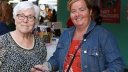 Ellie en Suzanne uit Tilburg gingen naar 'Black Sheep can Fly'.