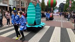 Sprookjes uit de Efteling, uitgebeeld door deelnemers aan de kinderparade van de Brabantsedag