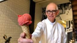 Gerard Crusio stopt na een halve eeuw met ijs maken (Foto: Erik Peeters)