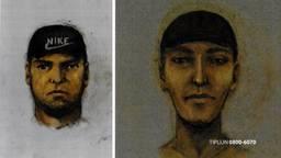 De politie heeft compositietekeningen gemaakt van de daders. (Foto: Bureau Brabant)