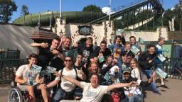 Fans van de Bob nemen afscheid (foto: Nicole Melchers).
