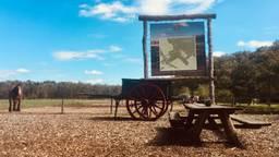 De plek in Vlierden waar een natuurbegraafplaats komt te liggen. (Foto: gebroeders Swinkels)