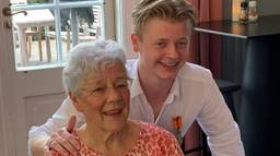 Thom en mevrouw Van Gennip. (Foto: gemeente Vught)
