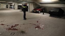 De vrouw bloedde hevig na de aanval (Foto: Erik Haverhals).