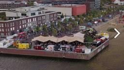 Hippe Happen Festival vanuit de lucht (archieffoto: organisatie).