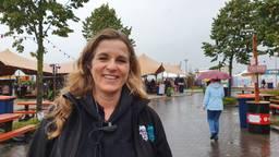 Adriënne Hazenberg van Hippe Happen neemt geen risico met slecht weer