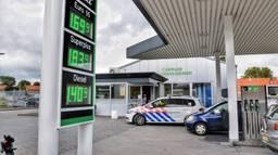 Dit tankstation in Diessen werd maandag overvallen. (Foto: Toby de Kort)