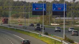 De A2 bij Den Bosch