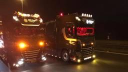Brabantse vrachtwagens gaan ook naar Den Haag (Foto: Mill Agri Trading)