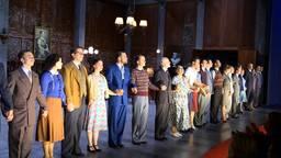 De cast van de musical Soldaat van Oranje (foto: Tom van den Oetelaar).