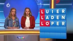 Marloes (links) en Eefje blijven maar winnen bij Lingo (Screenshot SBS6)