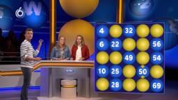 Tweelingzusjes Marloes en Eefje hielden het acht afleveringen vol bij Lingo (Foto: SBS6).