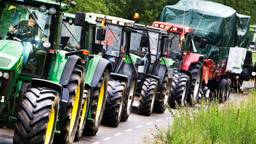 Begin oktober was er ook een massaal boerenprotest. (Archieffoto: ANP)