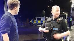Ruud (links) legde na de actie een verklaring af bij de politie (privéfoto).
