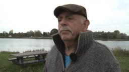 Ed Steiger aan de Maas (foto: Jan Peels)