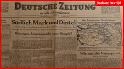 De krant van 5 november 1944.