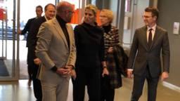 Maxima komt binnen in de Verkadefabriek Den Bosch. (Foto: Paul Post)