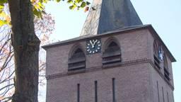 De kerk in Knegsel.