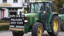 Boeren in protest (foto: Marco van den Broek/ SQ Vision).