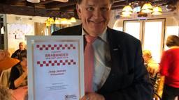 Joop Jansen is al 20 jaar voorzitter van Rolerisuit (Foto: Imke van de Laar)