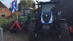 De Friese vlag wappert onder meer in Haaren.