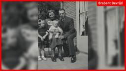 Annemie met haar ouders en zusje op foto in 1941.