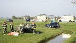 Bij het ongeval viel een dode. (Foto: SQ Vision)