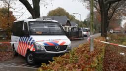 De politie tijdens de actie van woensdag (foto: Gabor Heeres/SQ Vision Mediaprodukties).