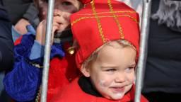 Wachten op Sinterklaas. (foto: Omroep Brabant)