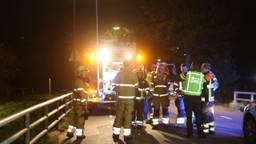 Verschillende hulpdiensten rukten uit vanwege de schreeuw die was gehoord bij de Aa in Berlicum. (Foto: Bart Meesters)