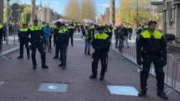 Veel politie in Den Bosch tijdens de sinterklaasintocht. (Foto: Omroep Brabant)