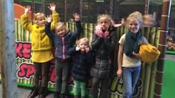 De kinderen van Suzan zijn helemaal losgegaan in het speelparadijs (foto: Suzan van den Oever).