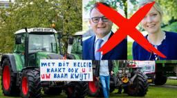 De ZLTO vindt het vertrek van de twee statenleden 'jammer', Farmers Defence Force vindt het prima.