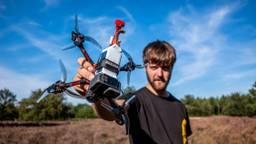 Dronepiloot Ralph Hogenbirk (foto: René Sebastian)