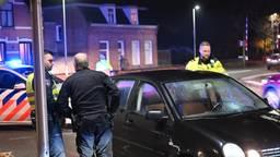 De twee voetgangers werden geschept door de auto. (Foto: SQ Vision)