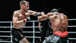 Reinier de Ridder in gevecht met Gilberto Gavalo (foto: ONE Championship).