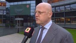 Minister Grapperhaus in gesprek met Omroep Brabant.