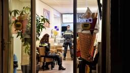 Cafetaria De Wiegelaar in Hilvarenbeek werd overvallen. (Foto: Toby de Kort)