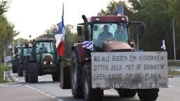 Boerenprotest. (Foto: Marco van den Broek / SQ Vision)