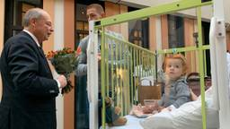 Floor is de eerste patiënt die verhuist naar het nieuwe Amphia Ziekenhuis in Breda.