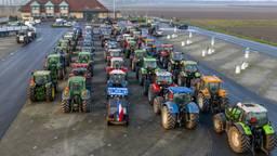 Tractoren in Moerdijk. (Foto: Marcel van Dorst/SQ Vision)