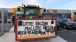 Een duidelijke boodschap bij Sligo in Veghel (Foto: René van Hoof).