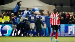 Bij PSV liep het voor geen meter (Foto: Hollandse Hoogte).