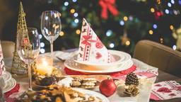 Kersttafel