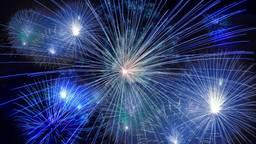 Het vuurwerk zal tijdens komende jaarwisseling niet goed te zien zijn (foto: Pixabay).