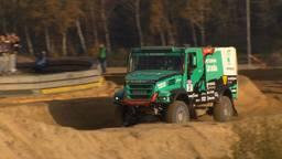 Truck van Team de Rooy tijdens eerdere rally.