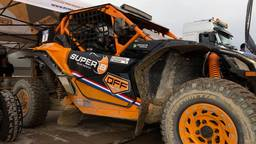 Kees Koolen rijdt deze keer de Dakar Rally in een kleine buggy.