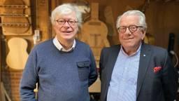 Geert van Opstal en Frans de Bruijn (foto: Jan Peels)