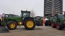 Boeren bij een eerder protest in Den Bosch (foto: Noel van Hooft).